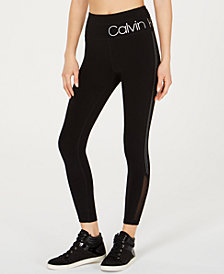 Calvin Klein Performance Studded High-Rise Leggings