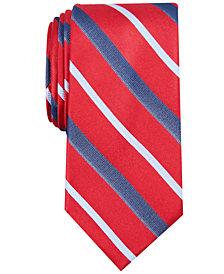 Nautica Men's Connors Stripe Slim Silk Tie