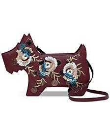 Radley London Radley Embellished Ziptop Leather Shoulder Bag