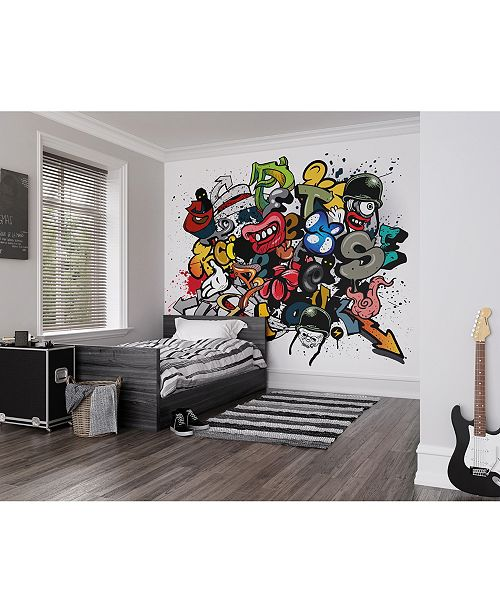 Brewster Home Fashions Spray Paint Wall Mural
