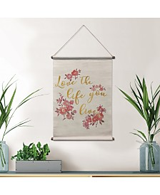 Love Your Life Wall Tapestry