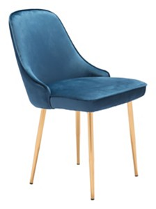 Merritt Dining Chair Navy Velvet