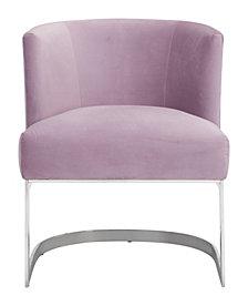 Artist Occasional Chair Pink Velvet