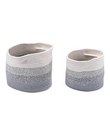 Zuo Maku Baskets with Handles, Set of 2