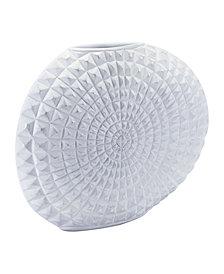 Moche Lg Vase White