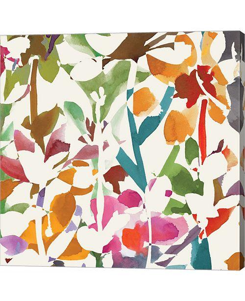 Metaverse Pink Garden Squ by Wild Apple Portfolio