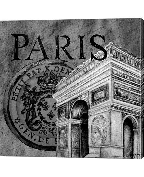 Metaverse Parisian Wall B by Janice Gaynor