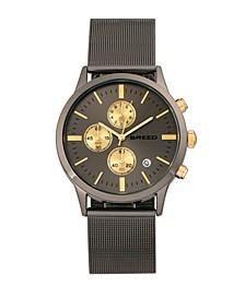 Quartz Espinosa Chronograph Gunmetal Alloy Watches 42mm