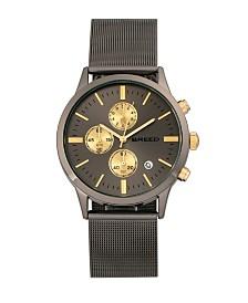 Breed Quartz Espinosa Chronograph Gunmetal Alloy Watches 42mm