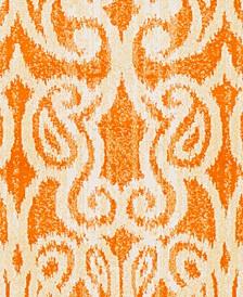 "CLOSEOUT! Aberdine ABE-8020 Bright Orange 18"" Square Swatch"