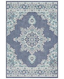 "Surya Alfresco ALF-9670 Charcoal 3' x 5'6"" Area Rug"