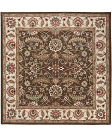 "Surya Caesar CAE-1003 Dark Brown 9'9"" Square Area Rug"