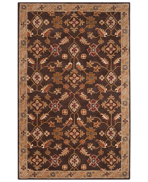 Surya Caesar CAE-1083 Dark Brown 9' x 12' Area Rug