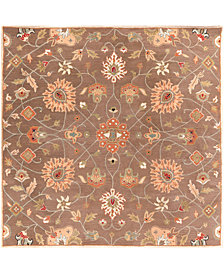 "Surya Caesar CAE-1086 Dark Brown 9'9"" Square Area Rug"
