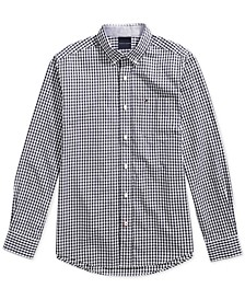 Men's Twain Check Shirt with Magnetic Buttons