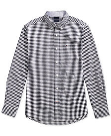 Tommy Hilfiger Adaptive Men's Twain Check Shirt with Magnetic Buttons
