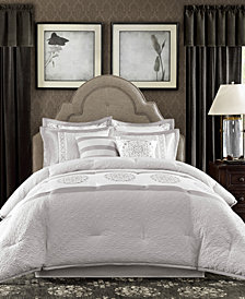 Madison Park Signature Shades Of Grey Queen 8-Piece Comforter Set