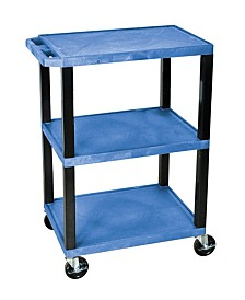 Offex Blue 3 Self Specialty Utility Cart
