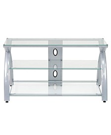 Futura TV Stand Glass - Black/Black