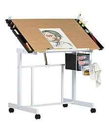 Deluxe Craft Station White / Maple in UPS Box