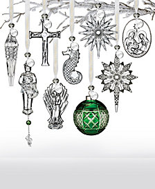 Waterford Artisan Signed 2018 Crystal Ornament Collection