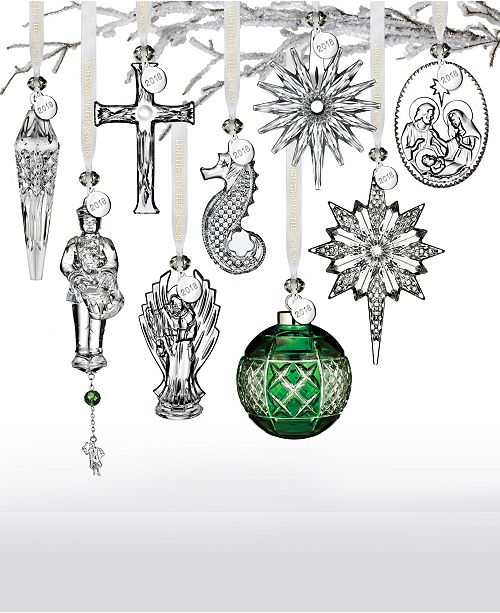 Waterford Crystal Christmas Ornament