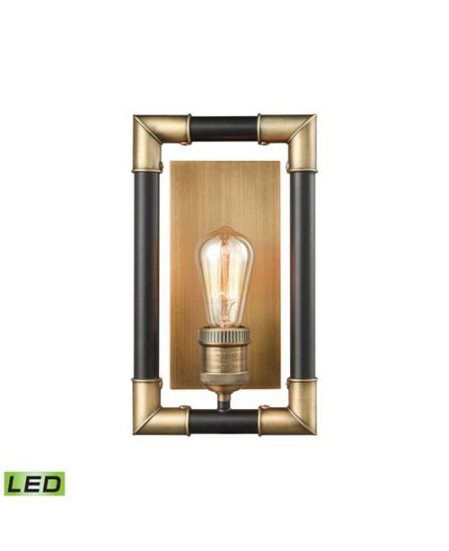 ELK Lighting Lisbon 1 Wall Sconce Classic Brass/Oil Rubbed Bronze