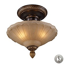 Heritage 6-Light Chandelier in A Cream Finish