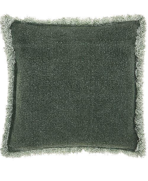 Nourison Mina Victory Life Styles Stonewash Fringe Decorative Pillow