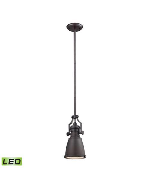 ELK Lighting Chadwick Oiled Bronze Pendant - LED Offering Up To 800 Lumens (60 Watt Equivalent) with Full Range