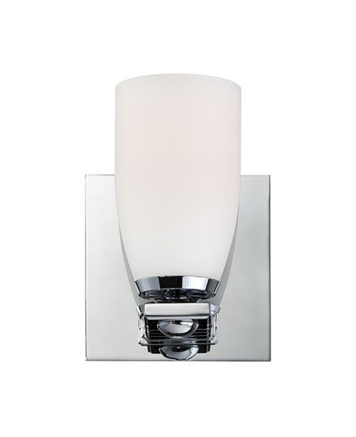 ELK Lighting Shpere 1L Bath and Vanity with  White Opal Glass / Chrome