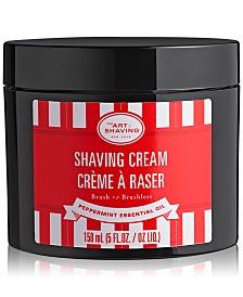 The Art of Shaving Peppermint Shaving Cream, 5 oz.