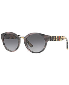 Burberry Polarized Sunglasses, BE4227 50
