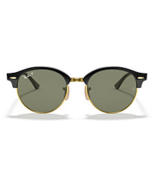 Ray-Ban Polarized Clubround Sunglasses, RB4246