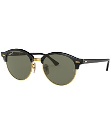 Ray-Ban Polarized Sunglasses , RB4246 CLUBROUND
