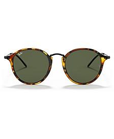 Sunglasses, RB2447 ROUND FLECK