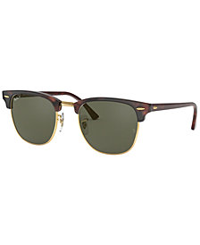Ray-Ban Polarized Clubmaster Sunglasses, RB3016