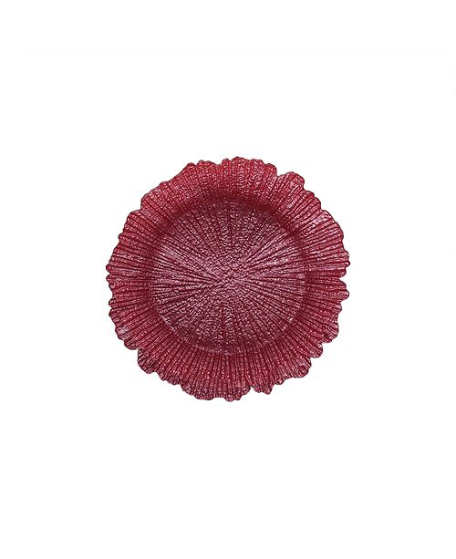 American Atelier Jay Import Reef Charger Plate