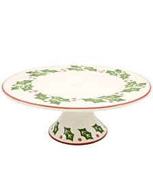 Natal Cake Plate