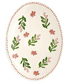 EuroCeramica Natal Medium Oval Platter