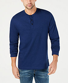 Kenneth Cole New York Men's Three-Snap Henley