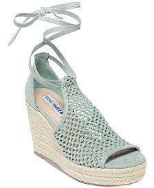 6ab484a8f5 Steve Madden Women's Sweeter Wedge Sandals & Reviews - Sandals ...