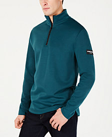 Kenneth Cole New York Men's Regular Fit Half Zip Sweater