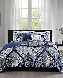 Madison Park Vienna 6-Pc. King/California King Coverlet Set