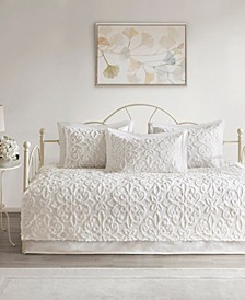 Sabrina 5-Pc. Tufted Cotton Chenille Daybed Cover Set