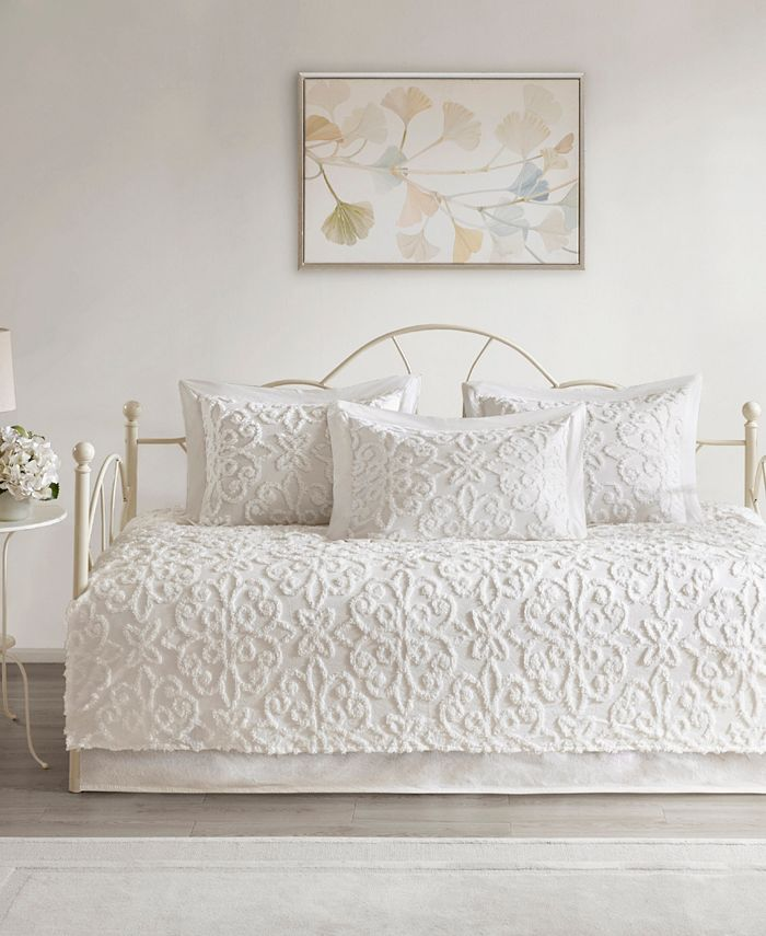 Madison Park - Sabrina 5-Pc Cotton Chenille Daybed Cover Set
