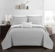 Shalya 6 Pc Twin Quilt Set