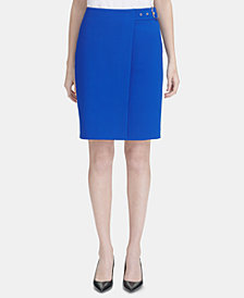 Calvin Klein Side-Belted Skirt