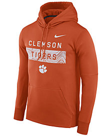 Nike Men's Clemson Tigers Staff Pullover Hooded Sweatshirt