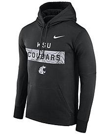 Nike Men's Washington State Cougars Staff Pullover Hooded Sweatshirt
